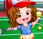 Baby Hazel Tennis Player Dressup