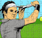 Federer Tennis Puzzle